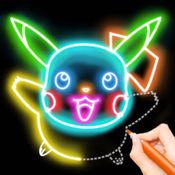 涂鸦世界-快乐涂鸦,回放涂鸦过程LOGO