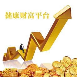 中国健康财富平台LOGO