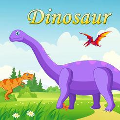 恐龙拼图LOGO