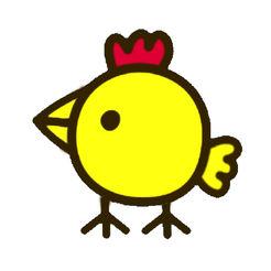 会说话的快乐小鸡LOGO