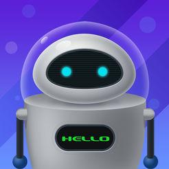 儿童陪伴机器人助手移动版LOGO