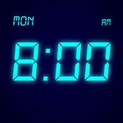 桌面时钟 - 全屏显示,极简的电子数字时钟