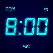 桌面时钟专业版 - 全屏显示,极简的电子数字时钟LOGO