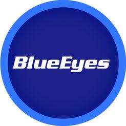 蓝眼文教机构LOGO