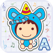 英文儿歌 A - 宝宝最好的学习英语和音乐应用程序LOGO