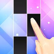 指尖上的钢琴 - 益智黑白块游戏集合