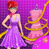 时尚工作室服装设计师: 衣服模型LOGO