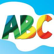 基础知识的孩子学习英文字母,数字和单词免费