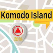 Komodo Island 离线地图导航和指南