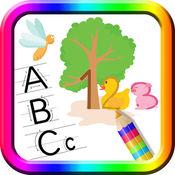学会写字母和数字 - 手写对于儿童