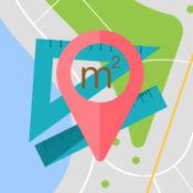 地图测量 - 地图上距离和面积计算器