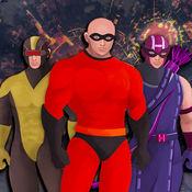 美國超級英雄 - 最強漫畫人物搭配八門神器