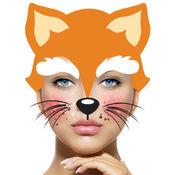 動物臉照片编辑器 有趣的游戏