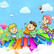 宝宝学儿歌 - 幼儿钢琴音乐学习游戏LOGO