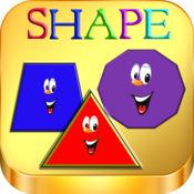简单的英语游戏-形状。LOGO