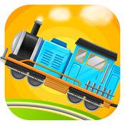 火车总动员 - 驾驶和赛车儿童游戏LOGO