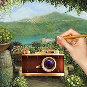 艺术家画家相机LOGO