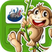 动物备忘录游戏 - 查找孩子们的游戏双