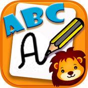 学写ABC - 手写对于幼儿3-6