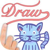 简笔画绘画笔记 – 儿童图画素描速写本LOGO