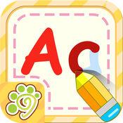小天才宝宝学前英语字母写字板-幼儿园益智早教游戏免费