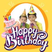 生日快乐相框 画面 贺卡