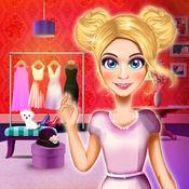 服装设计沙龙 3D: 时装设计师女孩游戏