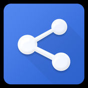 文件共享和聊天。连接和传输。设备之间轻松共享文件。LOGO