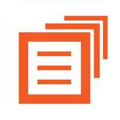 在文件夹(注意,照片,待办事项,购物清单与密码)LOGO