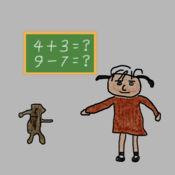 玛丽练算术LOGO