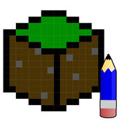 艺术教程像素的Minecraft