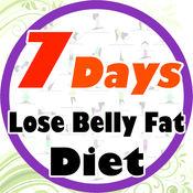 7天减肥!腹部减肥LOGO