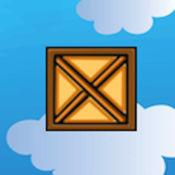 跳跃的木箱子:天空行走免费LOGO