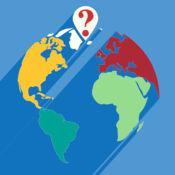 世界地图:一个问答游戏。