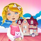 娃娃屋裝修女孩的游戏: 设计你的梦想家园LOGO
