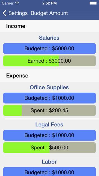 易预算截图5