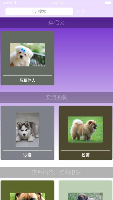 小狗的品种截图1