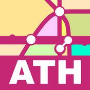 Athens Transport Map