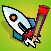 活动!图画书 为儿童外太空:游戏要学会涂料恒星和行星