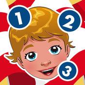 主动! 游戏为孩子们学习数1-10环游世界