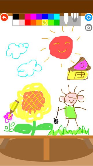 宝宝简笔画画图书截图3