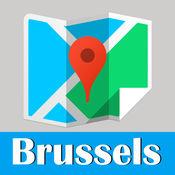 布魯塞爾旅游指南地鐵去哪兒比利時地圖 Brussels metro gps map guide