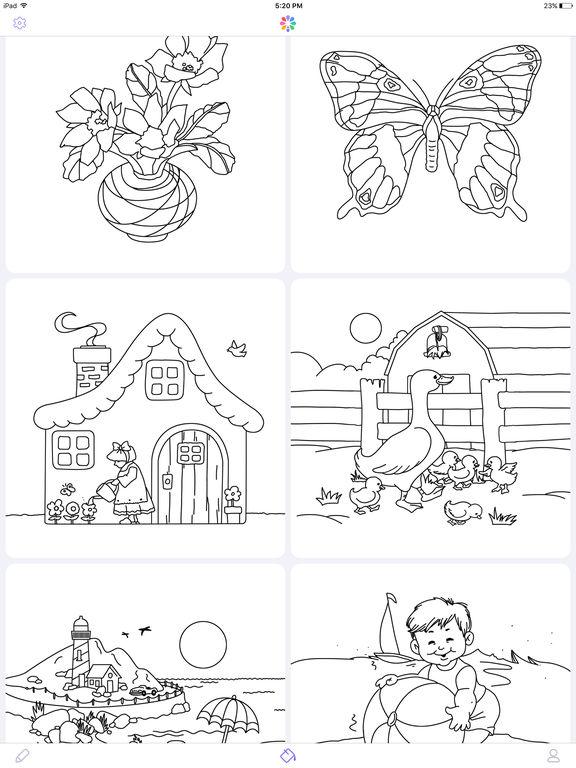 涂色本(专业版) - 手绘涂色书截图5