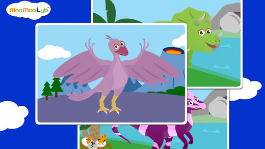 恐龙 - 儿童益智游戏截图2
