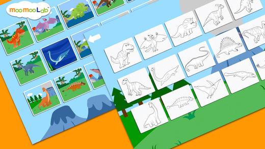 恐龙 - 儿童益智游戏截图1