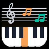 钢琴教练LOGO