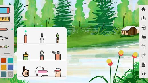 绘画桌截图3