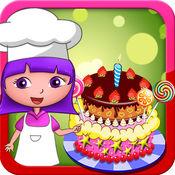朵拉开心学做蛋糕