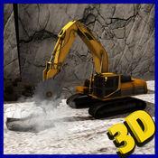 大型建设山区钻起重机操作员3D游戏