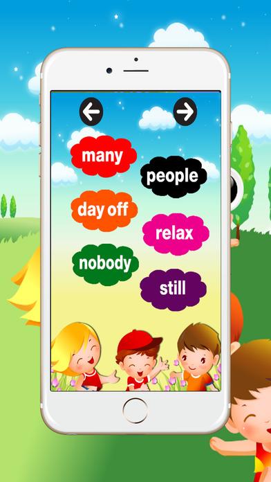 学英语:听说词汇英语为孩子和初学者截图4